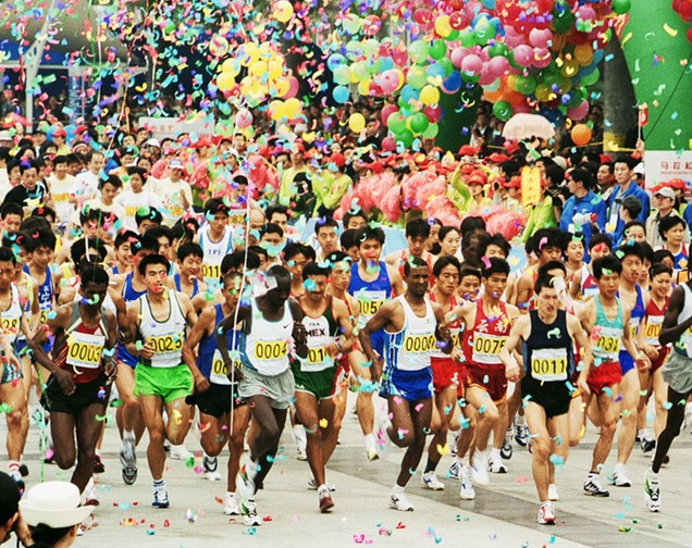 韩庚将担任2014厦门国际马拉松赛形象大使