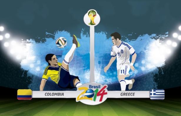 2014世界杯哥伦比亚对希腊谁赢?历史战绩分析